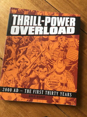THRILL-POWER OVERLOAD 2000AD The First 30 Years Rebellion Softcover 2009