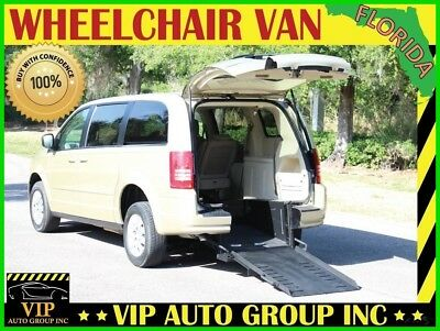 Chrysler Town & Country LX 2010 Chrysler Handicap Wheelchair Van Mobility Rear Entry Manual Ramp