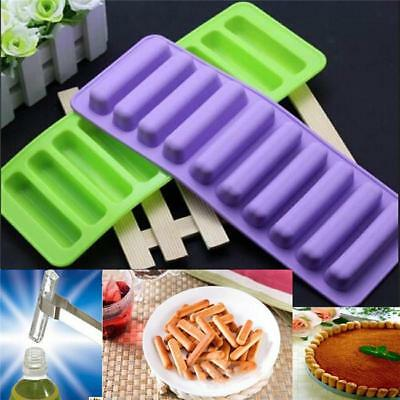 Silicone Non Stick Ice Cube Chocolate Jelly Sweet Candy Maker Moulds Trays 8C