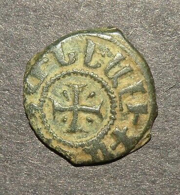 Crusader Cross Templar Coin 1100-1350 AD Europe Medieval Antique Ancient (+) Lot