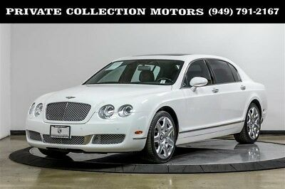 2008 Bentley Continental Flying Spur  2008 Bentley Continental Flying Spur Mulliner 2 Owner Clean Carfax Well Kept