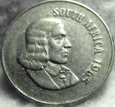 1965 SOUTH AFRICA 10 Cents ~ English Legend ~ KM# 68.1