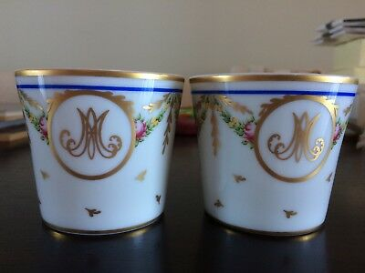 Raynaud Limoges Marie Antoinette Candleholders Musee du Louvre Limited Edition