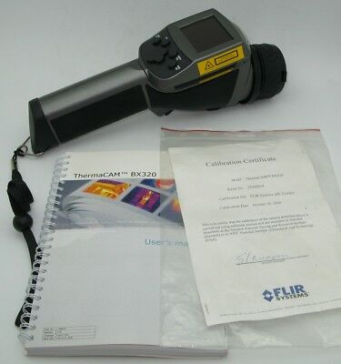FLIR ThermaCAM BX320 With Paperwork/Manual No battery