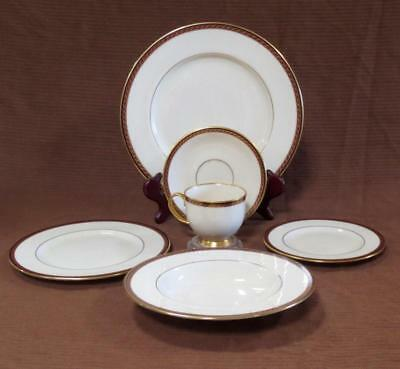 Lenox MONROE 6 pc setting - Dinner, Salad, Bread Plate, Bowl, Cup & Saucer