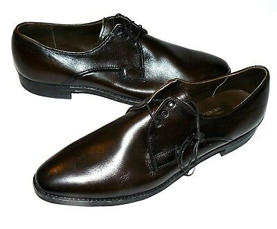 50s 60s vtg NOS Freeman Dress Shoes swing sinatra rat pack madmen suit vlv 12 A