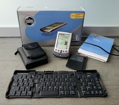 Palm Pilot VX Ultra Slim + Palm Portable Keyboard + Case + Accessories + Manual