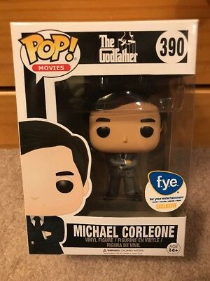 Funko Pop! Movies The Godfather Michael Corleone #390 Grey Suit F.Y.E. Exclusive