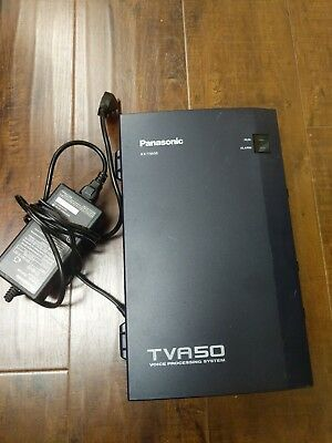 Panasonic KX-TVA50 Voice Mail Voice Processing System 2 Port 4 Hour & Power #C