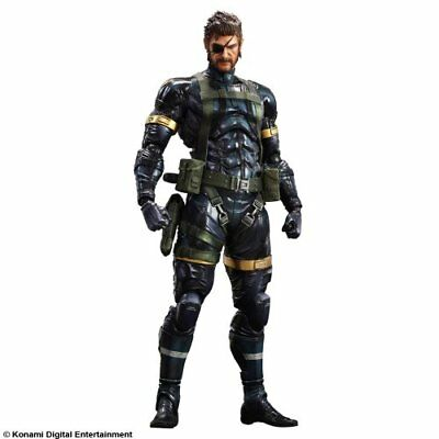 Metal Gear Solid 5: Ground Zeroes Play Arts Kai Snake Actionfigur (Japan Import)