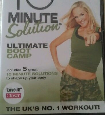 JESSICA SMITH 10 MIN SOLUTION ULTIMATE BOOT CAMP DVD ARMS AB LOWER 5 WORKOUT r2