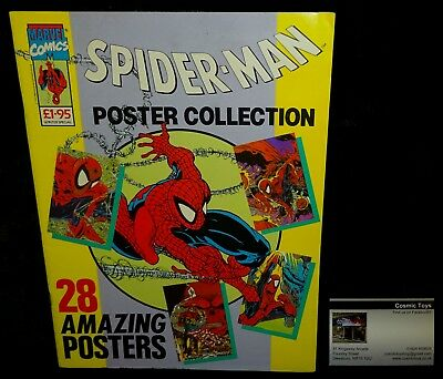 Marvel Comics Spider-Man Poster Collection Winter Special 1991 Todd McFarlane!