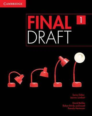 Final Draft Level 1 Student's Book with Online Writing Pack by Hartmann, Pamela,
