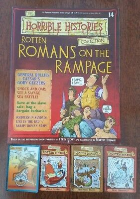 Horrible Histories Magazine Collection #14 Rotten Romans On The Rampage