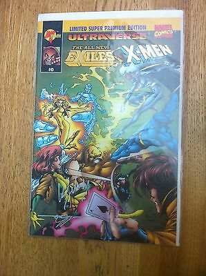 The All New Exiles vs Men 0 NM SIGNED