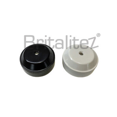 20A 4 WIRE TERMINALS MINI JUNCTION BOX for Connecting Wires BROWN / WHITE