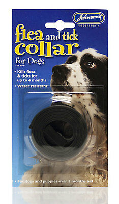 Johnson's Flea And Tick Collar For Large Dogs - Up To 4 Months - Bulk Buy Of 3