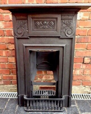 Period Cast Iron Fire Surround / Fireplace