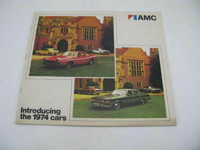 Original AMC 1974 LIneup Dealer Brochure Flyer Ad Advertisement Matador Gremlin