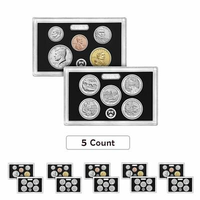 Lot of 5 - 2017-S US Mint 225th Anniversary Enhanced Uncirculated 10-Coin Set