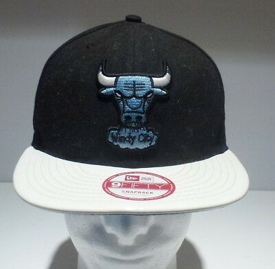 deaf693d66c NEW ERA Chicago BULLS Windy City IL 9FIFTY One Size Fits All Cap Hat NBA