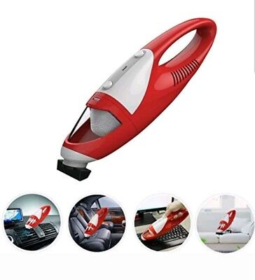 FINE DRAGON Cordless Hand VAC Portable Auto Handheld Mini Car Vacuum Cleaner