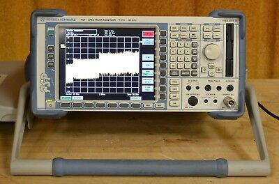Rohde Schwarz FSP38 Microwave Spectrum Analyzer 9khz-40GHz Tested and Guaranteed