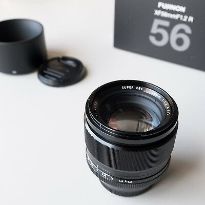 Fujifilm Fuji 56mm F1.2 XF Fujinon Lens - Mint & Boxed - Only 8 Months Old