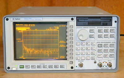 HP Agilent 35670A Dual Channel FFT Dynamic Signal Analyzer DC-102.4khz GOOD