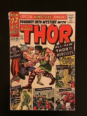 Thor Annual 1 First Hercules! Check Out All Of Our $.99 Auctions!
