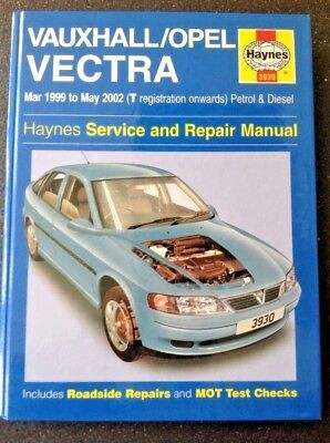 Haynes owners workshop car manual vauxhall vectra petrol diesel haynes manual vauxhallopel vectra mar 99 to may 02 t reg fandeluxe Image collections