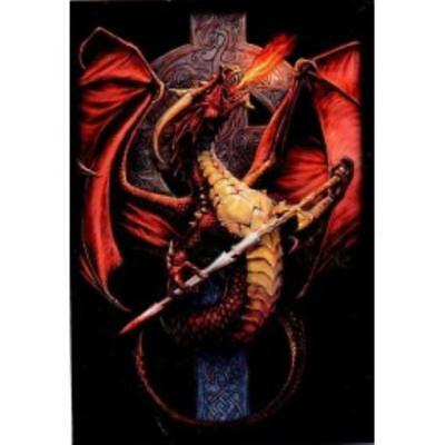 Max Protection Card Protectio ShuffleTech - Undersized, Celtic Dragon (60 MINT