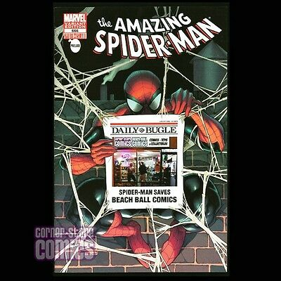 Amazing SPIDER-MAN #666 Marvel Comics CSC/BBC Variant!