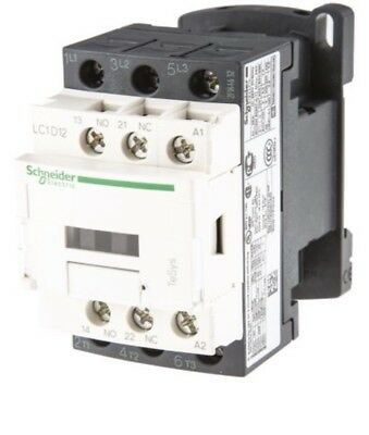 Schneider Electric LC1D 3 Pole Contactor, 3NO, 12 A, 5.5 kW, 230 V ac Coil