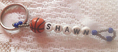 Boys Or Men's Personalized Keychain Or Zipper Pull With The Name Shawn-New