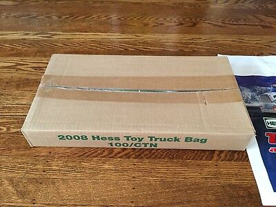 Hess Lot - (101) 2008 Hess Toy Truck And Front Loader Bags - Rare!