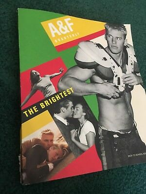 Abercrombie & Fitch (A & F Quarterly) 2001 Back to School Fall Catalog
