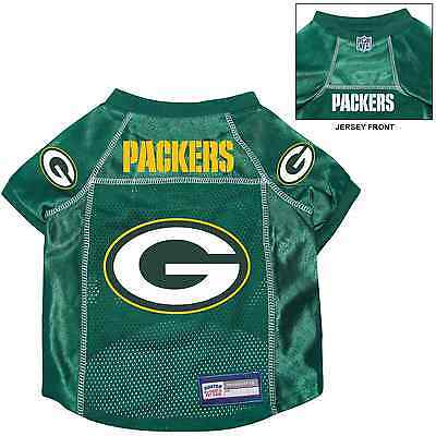 new style 15f6d 9815d NEW GREEN BAY PACKERS PET DOG PREMIUM NFL ALTERNATE JERSEY w NAME TAG