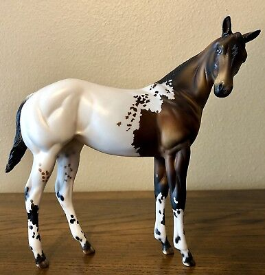 BABY HOUDINI CM Appaloosa Weanling LE Designed By Julie Keim Peter Stone
