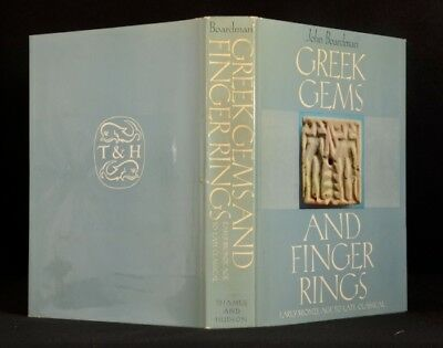 1970 Boardman Greek Gems and Finger Rings Bronze Age to Late Classical Photos