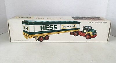 Vintage Empty 1976 Hess Truck Toy Box Collectible Gas Oil Tanker Box Only