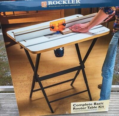 Rockler complete basic router table kit 10250 picclick rockler complete basic router table kit greentooth Gallery