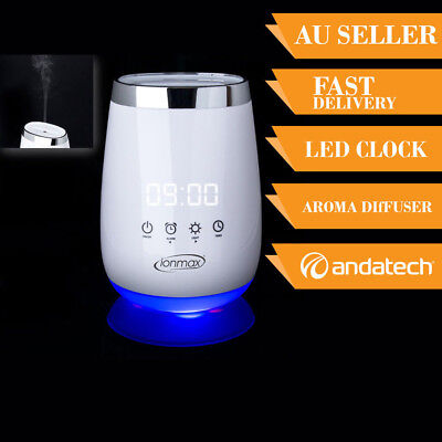LED Ultrasonic Humidifier Aroma Air Aromatherapy Diffuser Ionmax Serene ION138