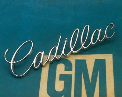 VERY NICE 1970 CADILLAC DeVILLE CALAIS TRUNK SCRIPT ONE YEAR ONLY EMBLEM 70