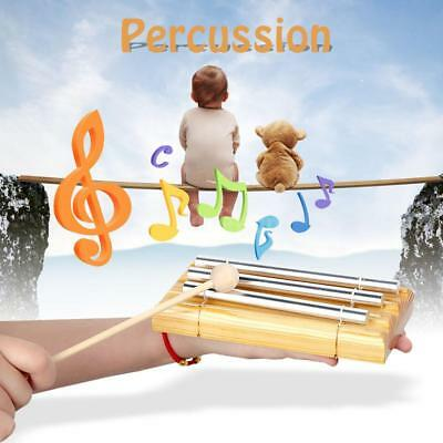 Energy Chime Three Tone with Mallet Exquisite Musical Toy for Kids Children A2X4