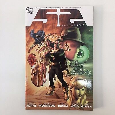 Graphic Novel Dc Comics Paperback Fifty Two 52 Volume Two 2 Johns Morrison Rucka