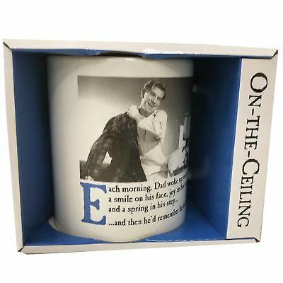 Emotional Rescue On the Ceiling Dad Mug - Novelty Humorous