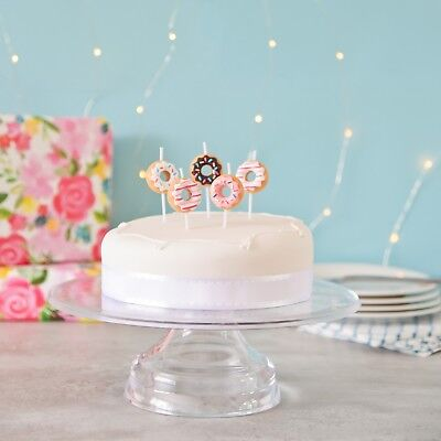 3D Doughnut Cake Candles, Birthday Cake, Cake Topper
