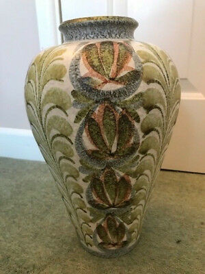 Bourne Denby - Glyn Colledge -signed studio pottery 33cm/13inch Vase - Pre-owned