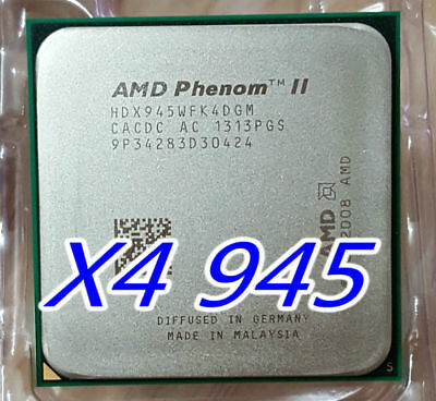 AMD CPU Phenom II X4-945 3.0GHz Socket AM3 CPU Processor